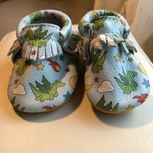 Freshly picked RARE dragon moccs size 1